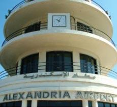 2) Alexandria airport (VIP lounge)